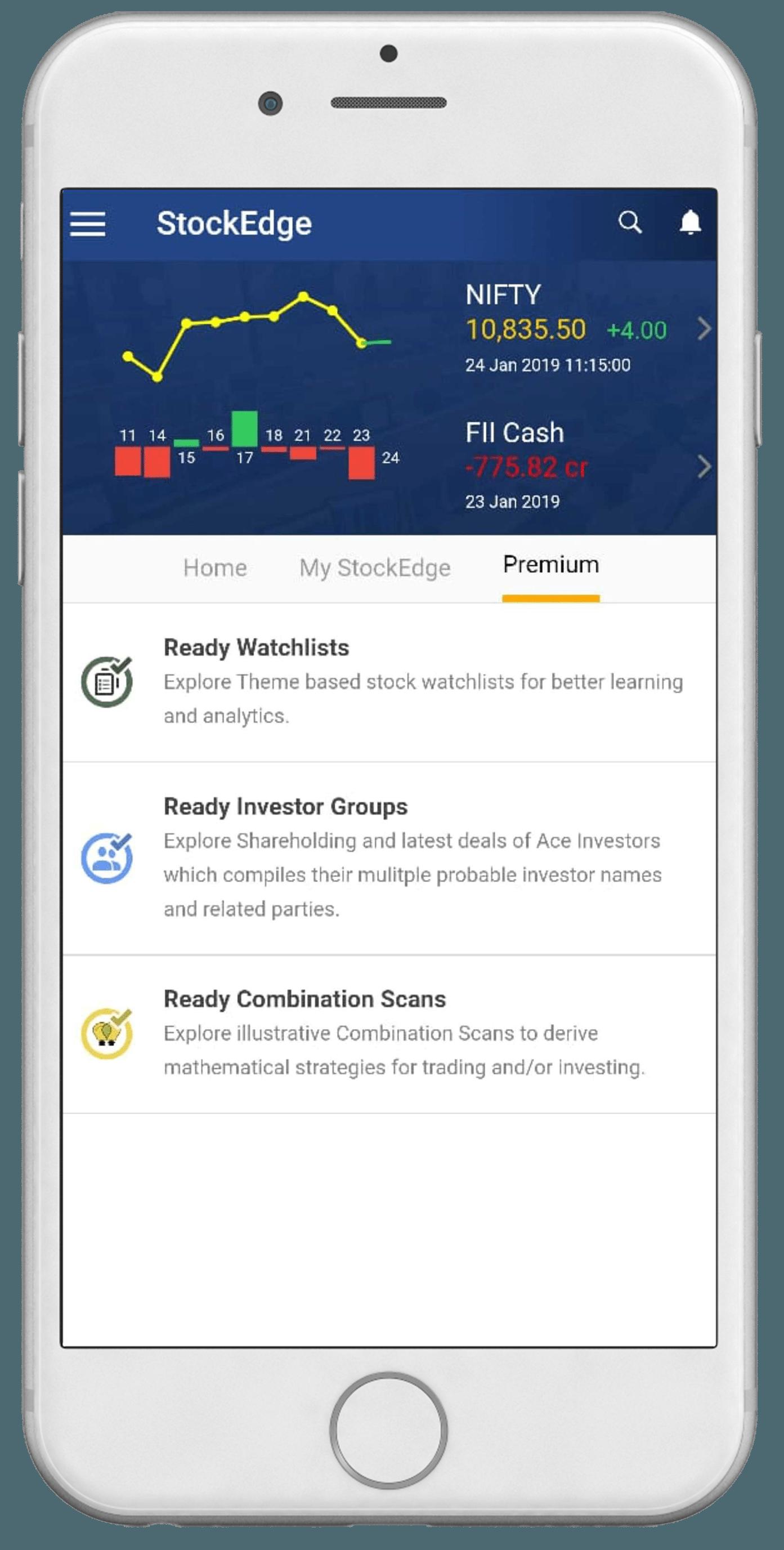 StockEdge | Indian Stock Market App designed to provide data