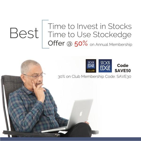 StockEdge Offer Banner for Mobile